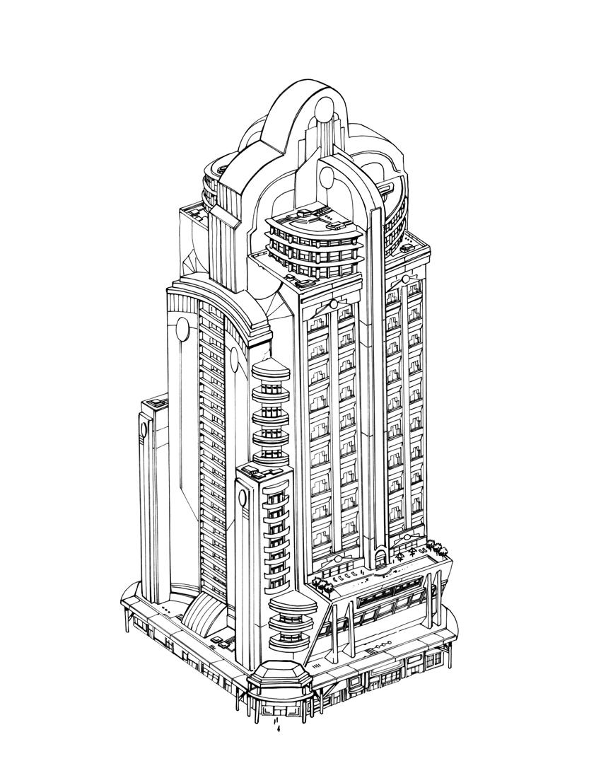 DCU ONLINE, METROPLIS BUILDING by olivernome