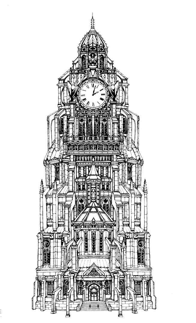 GOTHAM CLOCKTOWER by olivernome