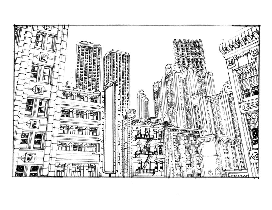 METROPOLIS 3 by olivernome