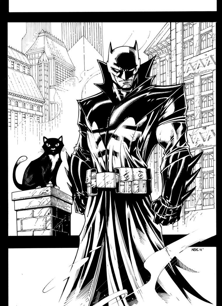 Damian Wayne Batman by olivernome