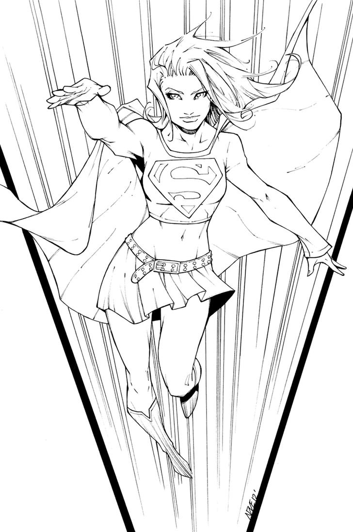 Michael Turner's Supergirl by olivernome