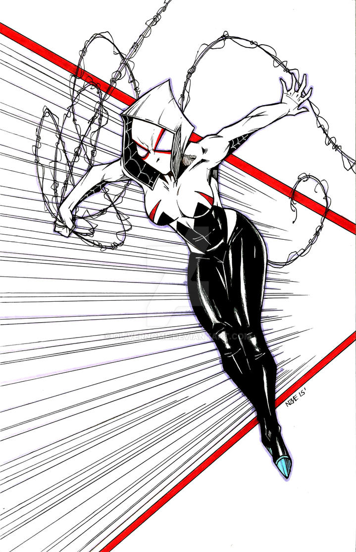 Spider-Gwen by olivernome