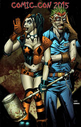 Harley and Joker print