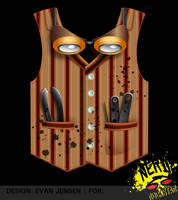 Steampunk Tshirt Vest by evanjensen