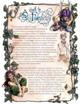 Faery Pages I