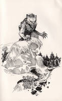 Inktober: Lycanthrope