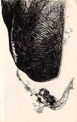 Inktober 6 by evanjensen