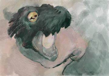 Dragony Sketch by evanjensen