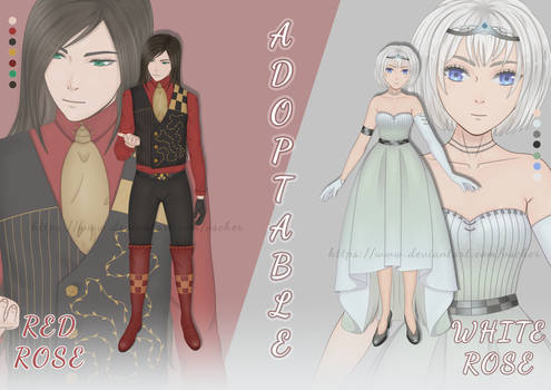 [CLOSED] Adoptable auction #03 - #04 TWO ROSE