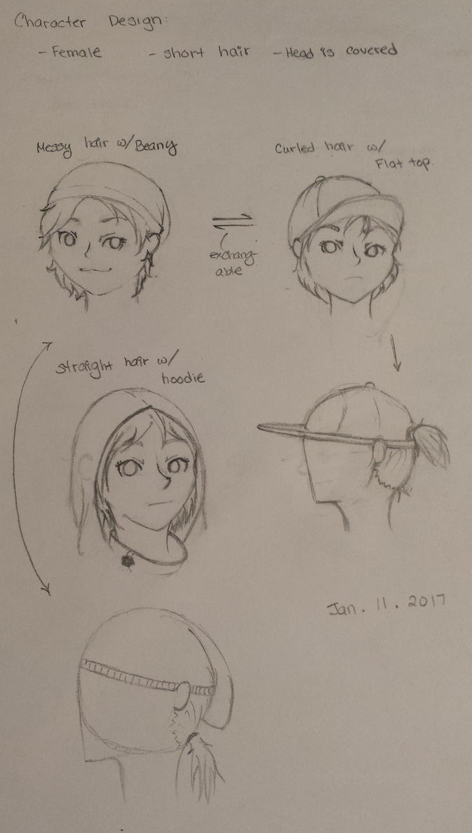 Character Design Practice : Female character design practice by kimgabby on deviantart