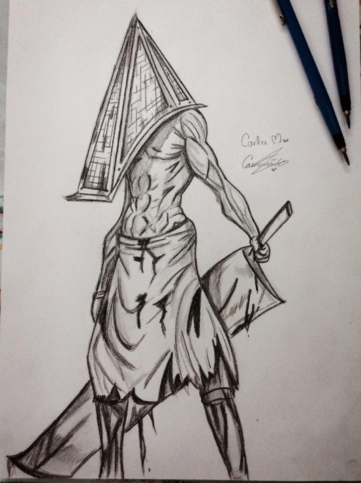 Pyramid Head Silent Hill By Kasumiau On Deviantart