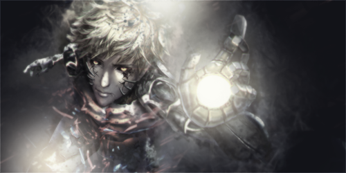 Genos - One Punch Man - Signature by AyaSolari