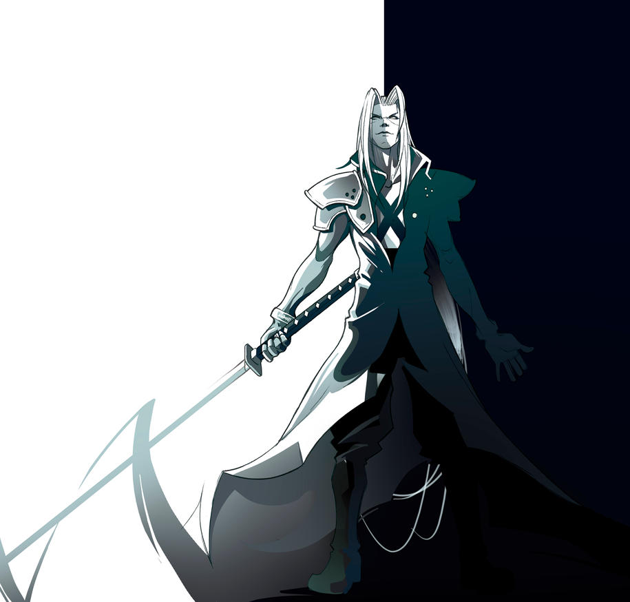 Sephiroth by AndreasS88