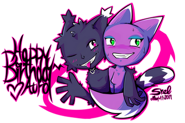 Cats in Cahoots 2019 (Birthday Gift for AuroBlaze) by ArcSiel
