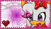 Maria the Hedgebat Stamp by SnowWhiteShadow