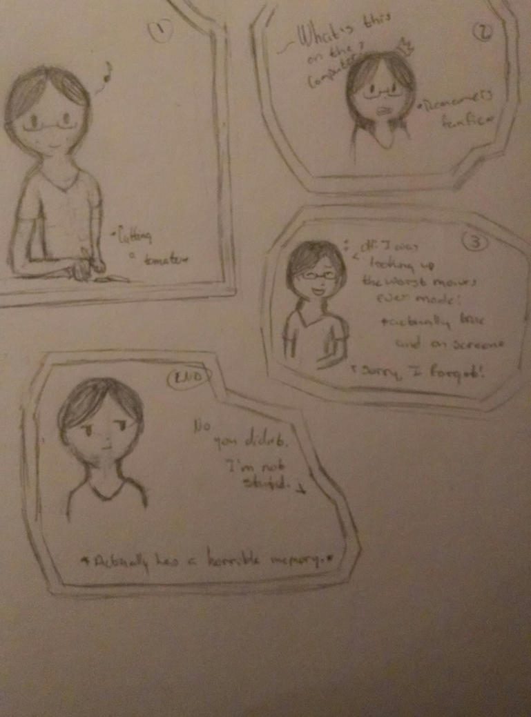 My everyday life comic by Meowmeowcat1