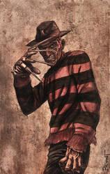 Freddy Krugger Watercolor