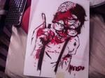 zombie stencil