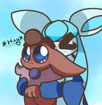 I hug -w-