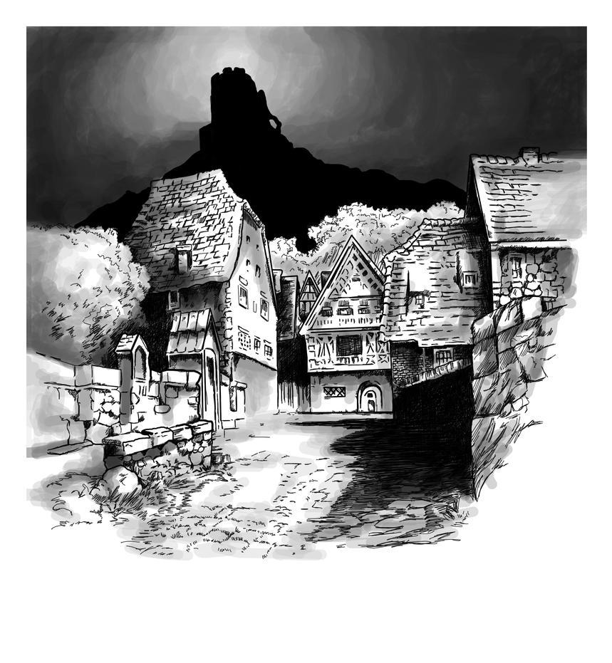 Village of the Werewolf by fallingSarah