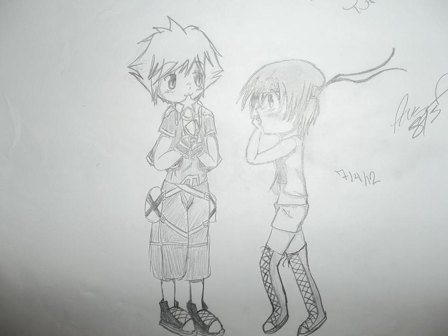 Sora & Yuffie Sora_x_yuffie___for_vaatibelmont_by_axelflamer813-d5bf6l7