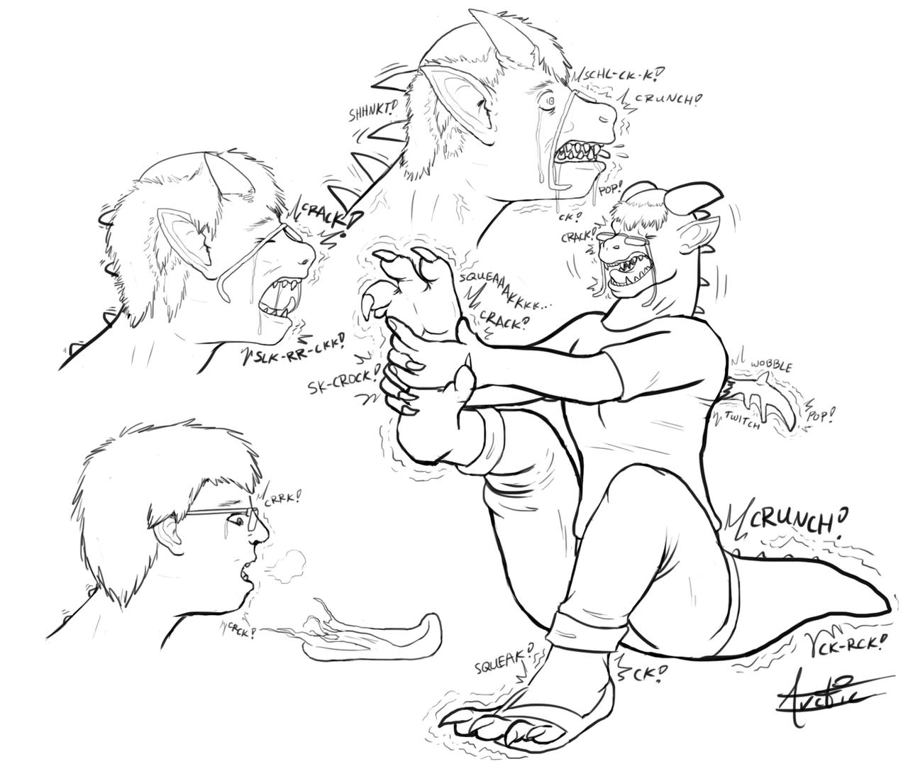 [anthro Dragon Tf] By Arcticfrigidfrostfox How To Draw A Dragon