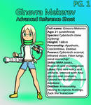 Ginevra Mekerev - Advanced Ref. Sheet (PG.1)