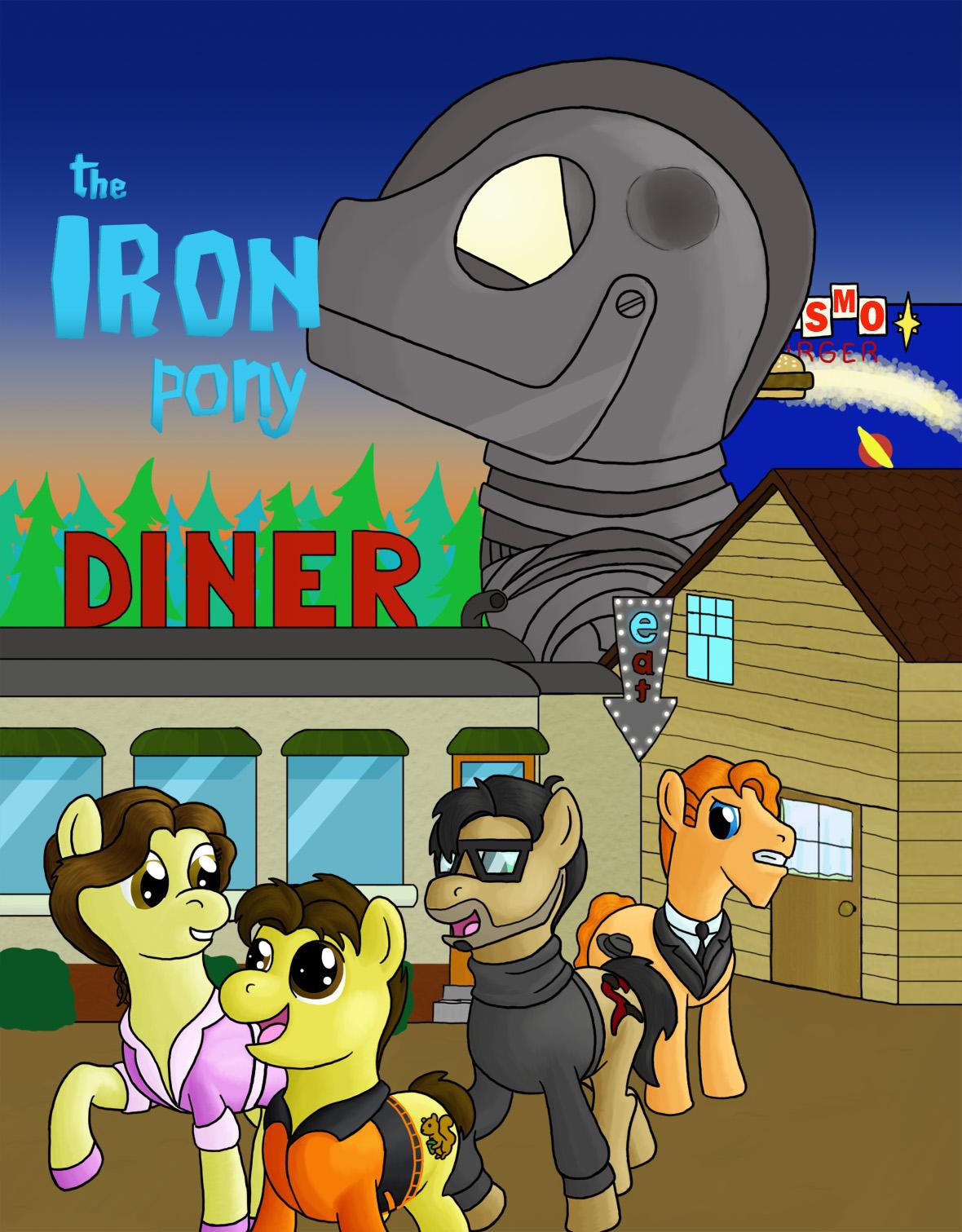 Rydel's Art - Page 6 The_iron_pony_by_rydelfox-d5epmm4