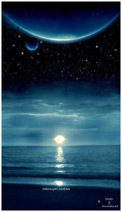 Midnight Ocean by I-A-M