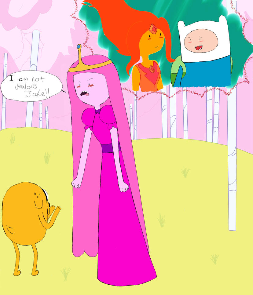 Finn And Princess Bubblegum Kiss Anime | www.imgkid.com ...