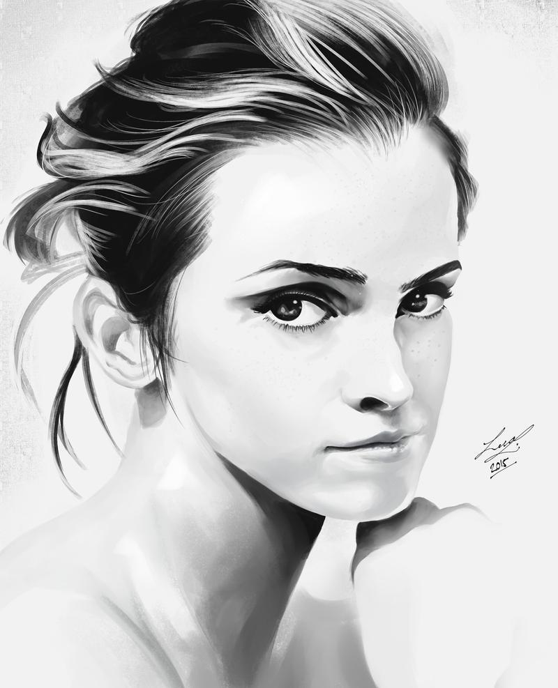Emma Speedpaint by ProjectVirtue