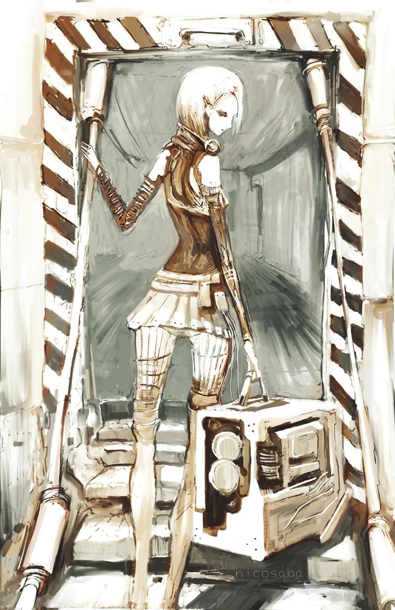 Traveler by NicoSaba