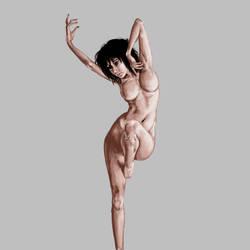 Dance woman by Imankhemankh