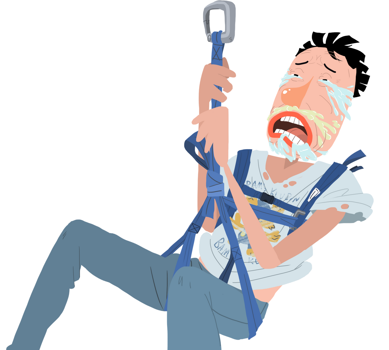 Zip Line Clipart : Zip line terror by bjarnetv on deviantart