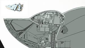 spaceship cutaway