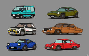 random cars by bjarnetv