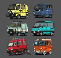 All the vans by bjarnetv