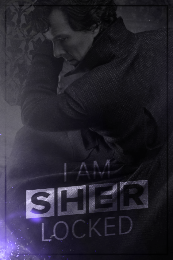 I Am Sherlocked Mobile Wallpaper By Ainsworth Arts On