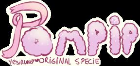 Logo - Pompip - closed specie by Yesirukey