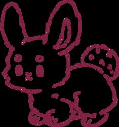 Bunny F2U base lineart by Yesirukey