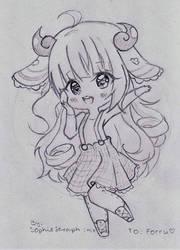 Forru (Sketch) by SophieSeraph