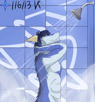 Dragon Shower by Vent-Kazemaru