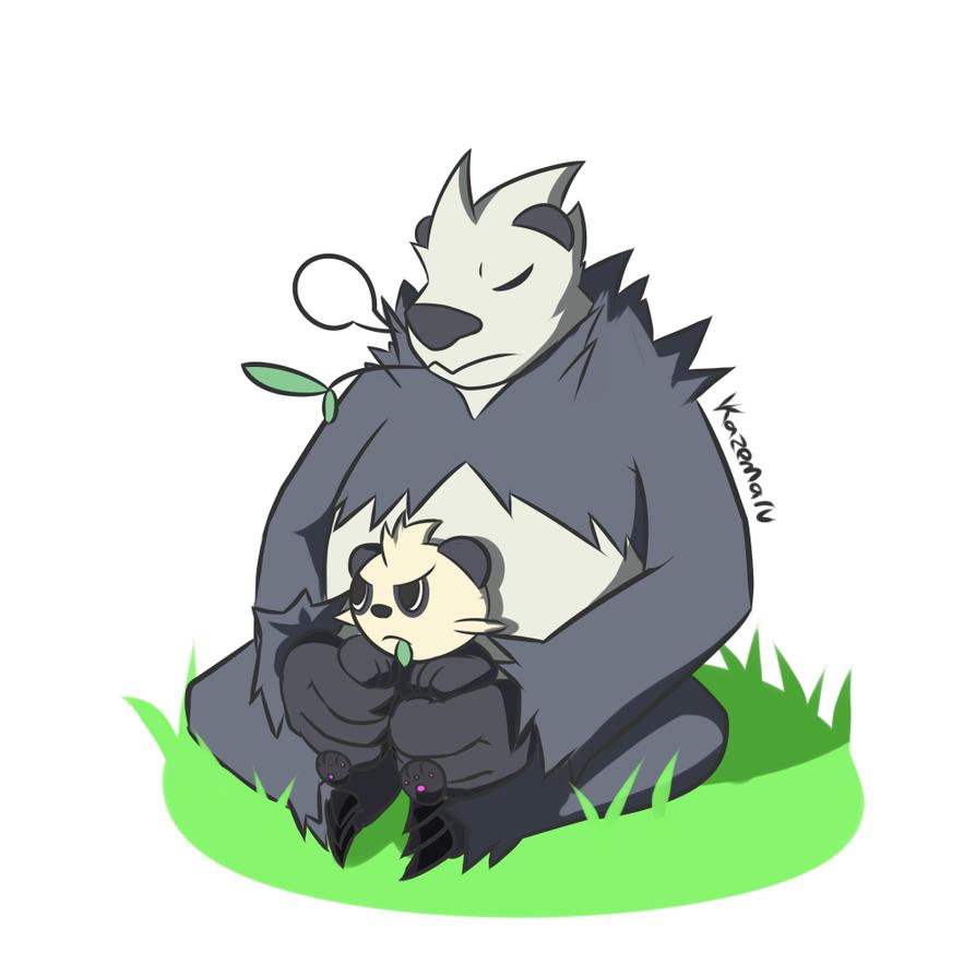 Panda protector by Vent-Kazemaru