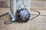 Tornado in the Stone Necklace