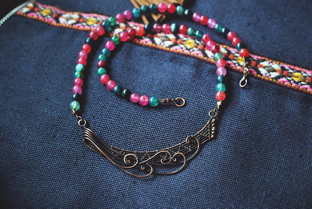 Copper Waves by twistedjewelry