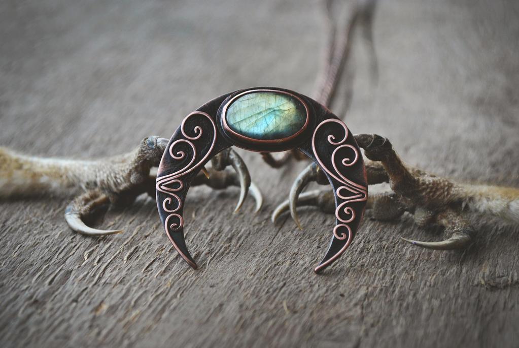 Naja Pendant by twistedjewelry
