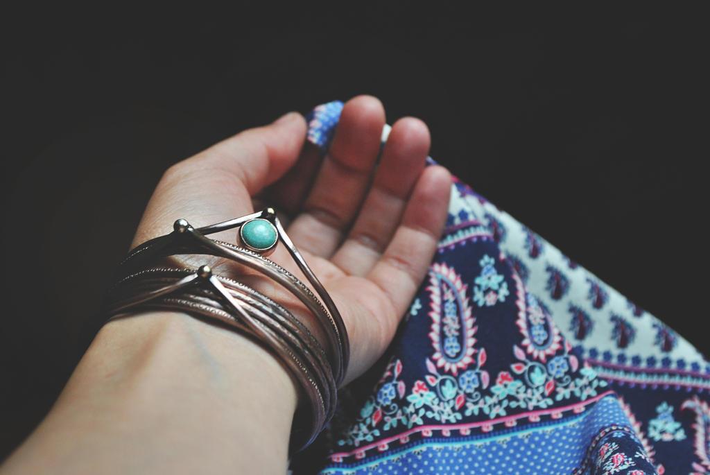 Set of copper stacker bangles by twistedjewelry