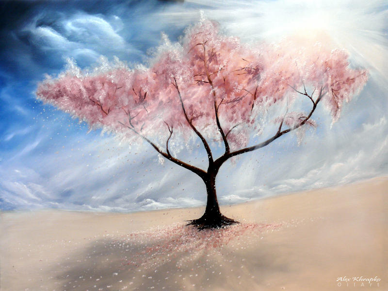 Cherry tree by oilart
