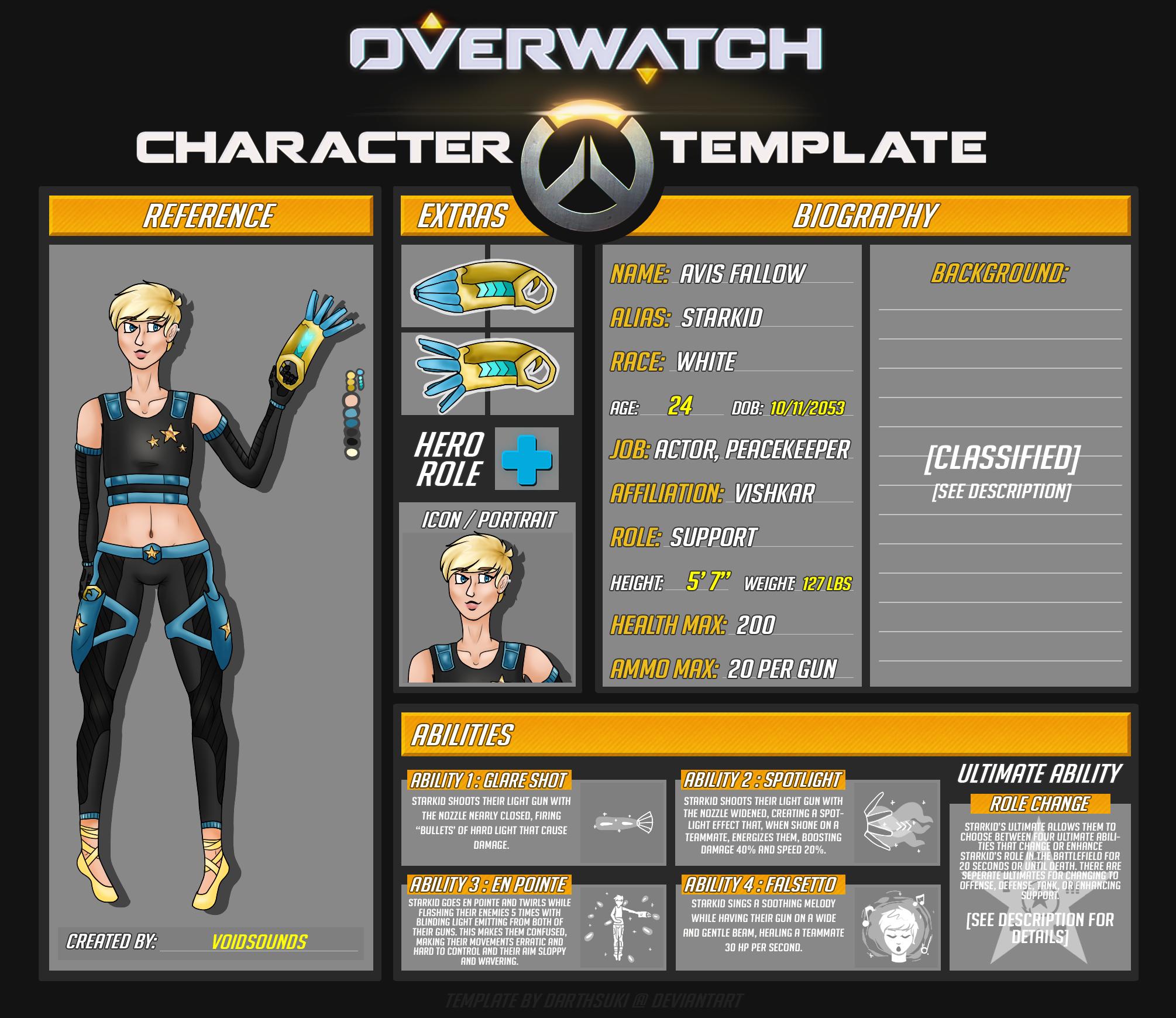 starkid - overwatch oc by voidsounds