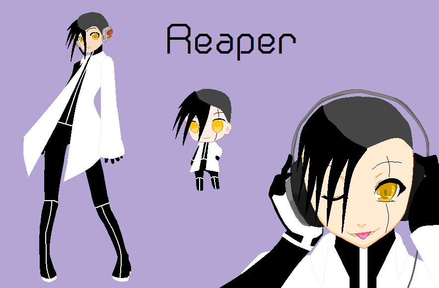 Vocaloid Reaper by Hanapu-sama